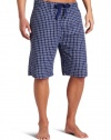 Bottoms Out Men's Checked Sleep Pant