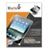 KHOMO 3 Pack Anti-Glare Invisible Screen Film Protector for Apple iPad 2 and new iPad 3 HD