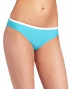 Speedo Women's Active Hipster with Contrast Swimsuit Bottom