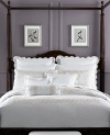 Martha Stewart Trousseau 300T King Duvet Cover