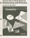 Geometry: Answer Key to Study Guide for Reteaching and Practice