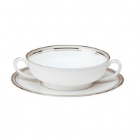 Philippe Deshoulieres Excellence Grey Cream Soup Cup 7 oz
