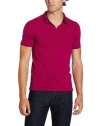 Calvin Klein Sportswear Men's Ultra Slim Fit Short Sleeve Stretch Polo With Hidden Placket