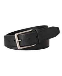 A casual classic that also works for your workday, the Madison belt from Fossil is a wardrobe staple in sleek black leather.