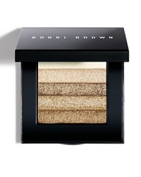 This shimmering, brush-on powder creates a candlelight glow. Works well with pink, neutral and peach blush shades.