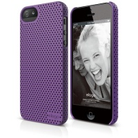 elago S5 Breathe Case for iPhone 5 - eco friendly Retail Packaging - Soft feeling Purple