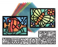 Melissa & Doug Stained Glass Frame Set
