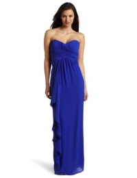 Nicole Miller Women's Strapless Gown, Blueberry, 10