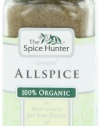 The Spice Hunter Allspice, Ground, Organic, 1.6-Ounce Jar