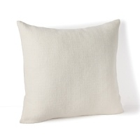 This versatile Calvin Klein pillow in a warm neutral hue boasts a detailed texture for contemporary living.