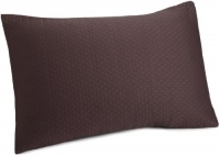 White Label by Calvin Klein Oval Bands Sham, Standard, Plum