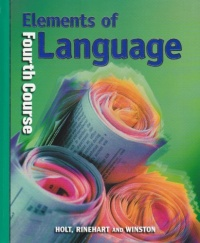 Elements of Language, fourth course 2001 Grade 10