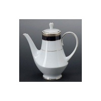 Noritake Crestwood Cobalt Platinum Coffee Server