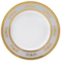 Philippe Deshoulieres Orsay Powder Blue Breakfast Saucer