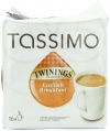 Twinings English Breakfast Tea, 16-Count T-Discs for Tassimo Brewers (Pack of 3)