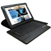 KHOMO ® Black PU Leather 360 Degree Rotating Bluetooth Keyboard Case Cover Stand for Google Nexus 10 tablet (with Automatic Sleep/Wake Function)