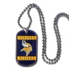NFL Minnesota Vikings Dog Tag Necklace