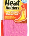 Heat Holders Ladies Slipper Heat Holders, Candy, US Shoe Size 5-9, 1 Pair