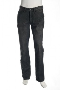 Kenneth Cole Straight Fit Flat Black Jeans Size 33X32