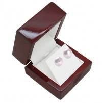 Cherry Wood Earring Gift Box