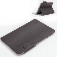 Rock Flexible Series PU Leather Stand Case for iPad Mini (Dark Gray / Grey)