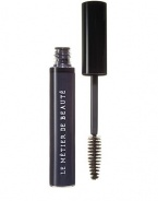 Create dramatic and voluminous lashes with Anamorphic Lash Mascara. Free of harmful tar, charcoal and mercury, Anamorphic Lash adheres to the lash beautifully while beeswax conditions hair follicles for soft, luscious lashes. Get three-dimensional lashes for a wide-eyed look. The long-wearing, smudge-proof formula conditions as it thickens for a soft, touchable look. Anti-clump brush defines lashes without clumps or globs. Contact lens safe; hypoallergenic.