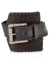 Keep it all together with this braided belt from John Varvatos Star USA, distressed for authentic, rugged appeal.