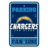 NFL San Diego Chargers Plastic Parking Sign