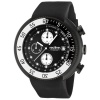 red line Men's 50038-BB-01-WBBZ Driver Chronograph Black Dial Black Silicone Watch