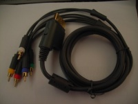 NEW Xbox 360 Component HDAV High Definition HD AV Cable