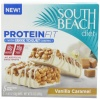 South Beach Diet Vanilla Caramel with Greek Yogurt Coating Protein Fit Bar, 5 Count
