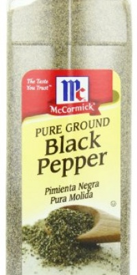 McCormick Pure Ground Black Pepper, 18-Ounce