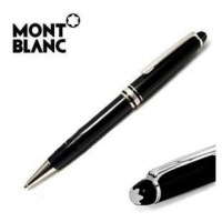 Montblanc Meisterstuck Classique Ballpoint Pen 164 Black with Gold Trim