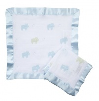 Aden by aden + anais 2 Pack Muslin Security Blanket, Jungle Jive