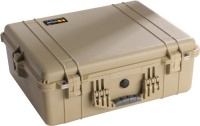 Pelican 1600 Case with Foam for Camera (Desert Tan)