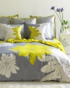 Ashley Full/Queen Duvet Set, Citron